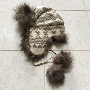 Laundry by Shelli Segal nordic trapper fur hat